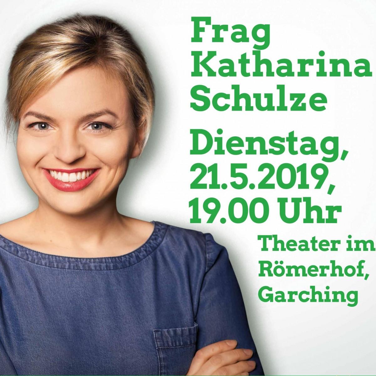 Veranstaltung - Frag Katharina Schulze